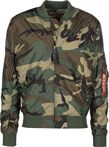 Alpha Industries MA-1 TT Jacke Camouflage 3XL