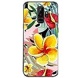 Neivi Cover Galaxy S9/S9+ Cases Trasparente con Disegni Morbida Gel Silicone TPU Samsung Galaxy S9/S9 Plus Custodia Posteriore Ultra Sottile Fiore Protezione Case per Galaxy S9 Plus (10, Galaxy S9)