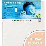 Babycalin, Materasso climatizzato, 120 x 60 x 10 cm