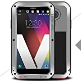 LG Class Warrior Love Mei Shell, Awesome Aviation Aluminum Metal Anti-Drop Cover, TAITOU Cool Outdoor Sport Dirt Shockproof Protective Armor Phone Case For LG Class Silver