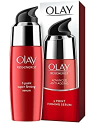 Olay Regenerist 3 Point Firming Anti-Ageing Ultra-Lightweight Serum for Firm Skin, 50 ml
