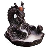 Gosear Keramik Dragon Form Aromatherapie Rückfluss Weihrauch Brenner Halter Ofen Räuchergefäß Haus Dekoration