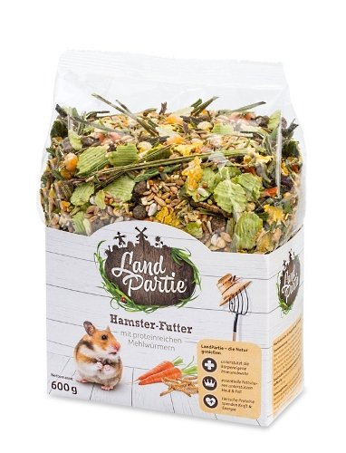 LandPartie Hamster-Futter mit Mehlwürmern 600g