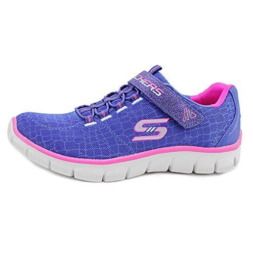 Skechers - Empirerock Around, Scarpe da ginnastica Bambina Blue/Pink