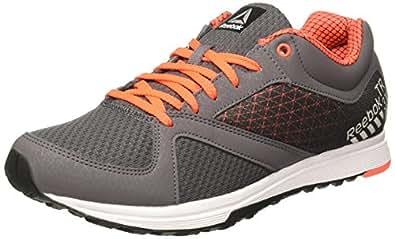 Reebok Men's Train Grey/Red/Silver/WHT/Blk Multisport Training Shoes - 11 UK/India (45.5 EU) (12 US)