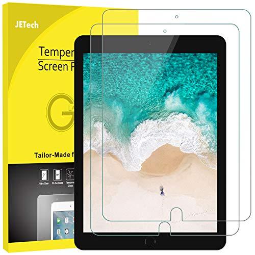 JETech Film de Protection d'écran Compatible iPad Air 3 (10,5 Pouces Modèle 2019) et iPad Pro 10,5 (2017) en Verre Trempé, Lot de 2