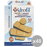 Set 48 IDROFIL Cerotti Assortiti * 50 Pezzi Bandagen und Körperpflege preisvergleich bei billige-tabletten.eu