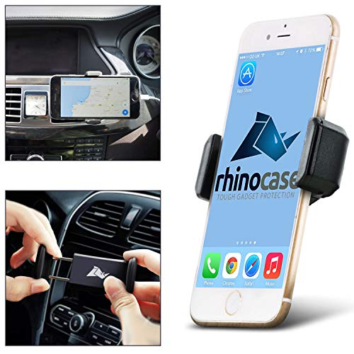 2ccb8a2a638 Rhino Case Universal in Car Air Vent Mount Holder for Apple iPhone 6, 6S, 6  Plus, iPhone 5 5S 5C 4S, Samsung Galaxy S6 Edge+, S6 S5 S6 Edge S4 S3, ...