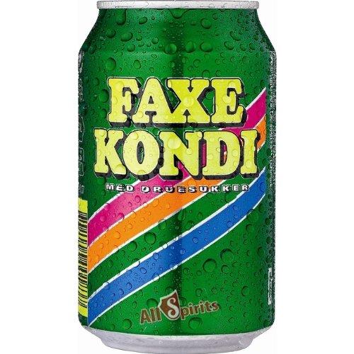 Faxe Kondi 24 x 0,33ltr DOSE Dänemark Original Export Limonade