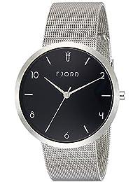 Fjord Analog Black Dial Men's Watch- FJ-3027-11