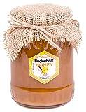 Miel de Alforfon con Polaco. Sin pasteurizar, miel cruda 2017. 1 kg. Miel polaco directamente del apicultor.
