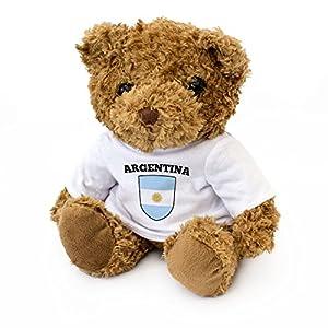 London Teddy Bears Neu - Bandera Argentina de Teddybär Mit - Geschenk Argentinisch Fan Präsent