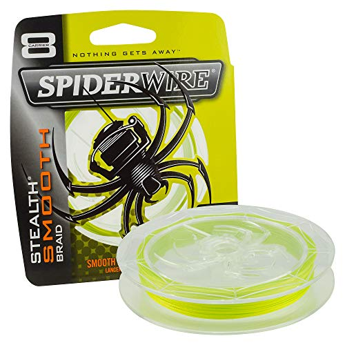 SpiderWire - Stealth Smooth 8 - Yellow - 0,17mm - 15,8kg - 300m