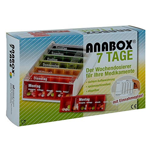 Anabox 7 Tage Regenbogen 1 stk