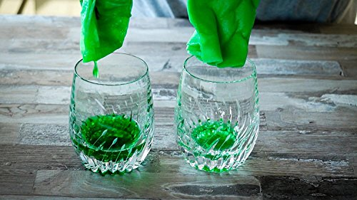 KochWunder Bamboo Küchenrolle - waschbare Haushaltstücher, umweltfreundliche Papiertücher, ersetzt mehrere Haushaltsrollen saugstärker und reißfester als herkömmliche Küchentücher (3tlg.) - 4