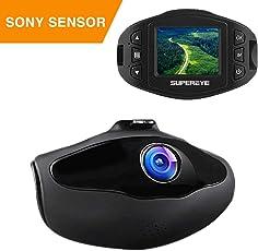 Dashcam Mini Autokamera Full HD 1080P Dash Camera Auto SuperEye Video Recorder mit 170¡ã Weitwinkelobjektiv,WDR, Bewegungserkennung, Parkmonitor, Loop-Aufnahme,G-Sensor und Nachtsicht