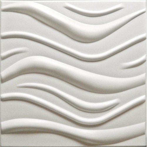 Inventive *illusion* 3d Decorative Wall Panels 1 Pcs Abs Plastic Mold For Plaster Price Remains Stable Concrete Stamps, Forms & Mats Sculpting, Molding & Ceramics