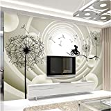YUANLINGWEI Wandbild Tapete 3D Effekt Hauptdekoration Hintergrund Tapete Moderne Mode Wohnzimmer Schlafzimmer Tv-Einstellung Foto Wandbild Stereoskopische Bälle,130Cm (H) X 210Cm (W)