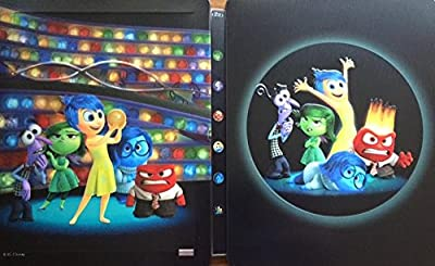 Inside Out - Alles steht Kopf 2D + 3D Exklusiv Limited Lenticular Steelbook Edition (Kimchi) - Blu-ray