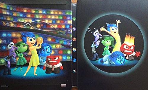 Bild von Inside Out - Alles steht Kopf 2D + 3D Exklusiv Limited Lenticular Steelbook Edition (Kimchi) - Blu-ray