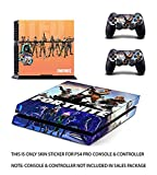 Gadgets Wrap FORTNITE Stand Skin for Play Station 4 (PS4) Console & Controller