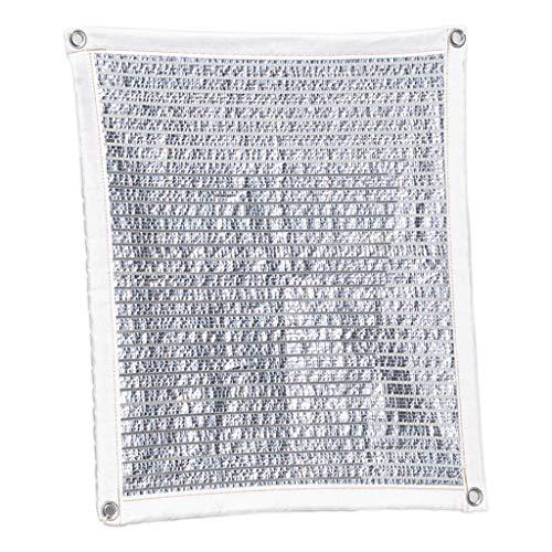 Leqi Plane FJZ Sunscreen Net Shade Net Isolierung Net Aluminiumfolie Sicherheitsfenster Wintergarten Balkon Top Fensterbank Outdoor Garden Outdoor Markise für den Außenbereich (Size : 400 * 600cm)