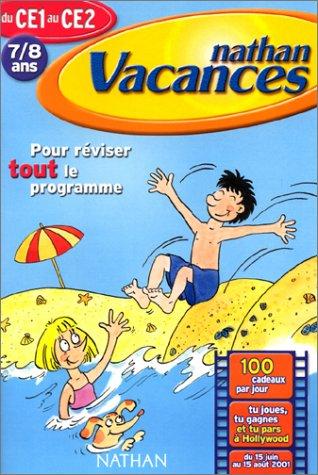 Nathan Vacances - Du CE1 au CE2 (7/8 ans) Cahier de vacances