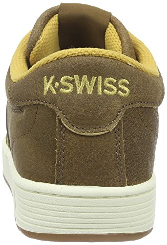 K-Swiss Hoke C Cmf, Baskets Basses Homme Marron (Bison/Amber Gold/Antique White 237)