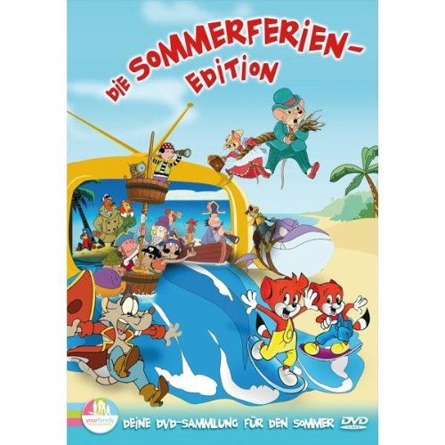 Die Sommerferien Edition (Käpt'n Nobart/Robinson Sucroe/Dog City/Tiki Turtles Insel/Fix & Foxi/Landmaus & Stadtmaus auf Reisen)