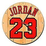 MasTazas Michael Jordan Chicago Bulls 23 Wanduhren Wall Clock 20cm