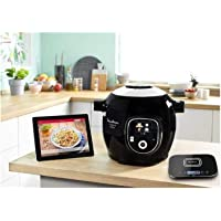 Moulinex Multicuiseur Intelligent Cookeo+ Connect Grameez via Application Bluetooth 6L 6 Modes de Cuisson 150 Recettes…