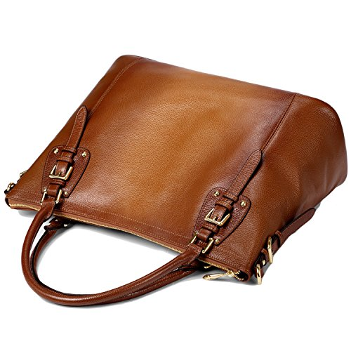 BagCentre Joli sac à main pour femme en cuir véritable Modèle A Modèle G - Model C (SF8008)