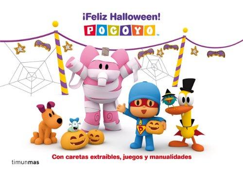 Pocoyó. ¡Feliz Halloween!: Con caretas extraíbles, juegos y manualidades (Cuentos y actividades)