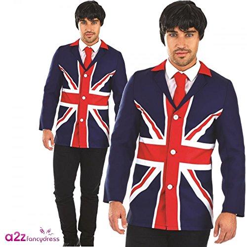 60's Mod Jacket - Adult Fancy Dress Kostüm -