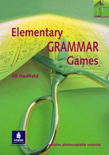 Elementary Grammar Games Paper (Methodology Games)