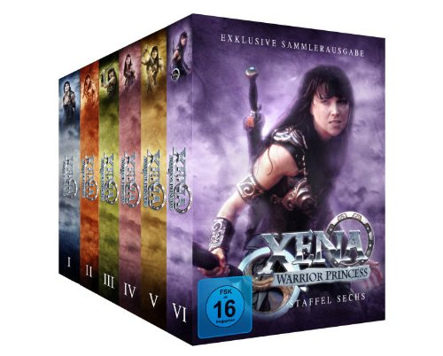 Staffel 1-6 Komplett-Package (38 DVDs)