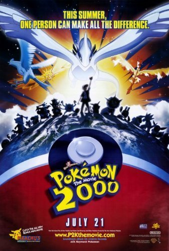 Pokemon the Movie 2000: The Power of One POSTER Movie (27 x 40 Inches - 69cm x 102cm) (2000) by Decorative Wall Poster