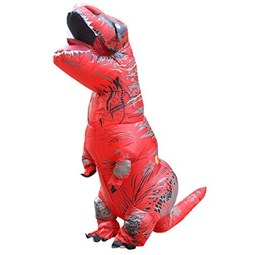 er Dinosaurier T-REX Kinder Halloween Kostüm Cosplay Rot (T-rex Kleinkind-halloween-kostüm)