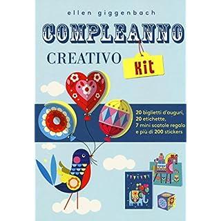 Compleanno creativo kit. Con adesivi