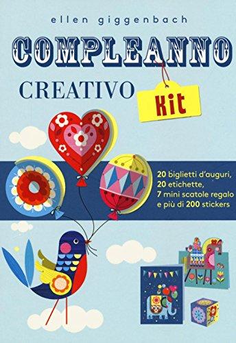 Compleanno creativo kit. Con adesivi (Libri gioco) por Ellen Giggenbach