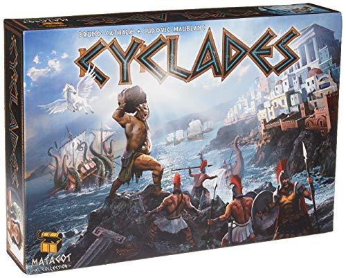 Matagot CYCLADES Juego de mesa edición de ocho idiomas, de 2 a 5 jugadores (200738)