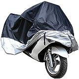 Ollivan Moto de la Motocicleta Resistente de Agua a Prueba de Agua de Lluvia de Protección UV Transpirable Cubierta más Grande (XXL)