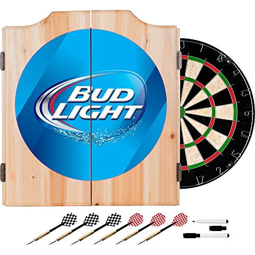 bud-light-wood-dart-cabinet-set