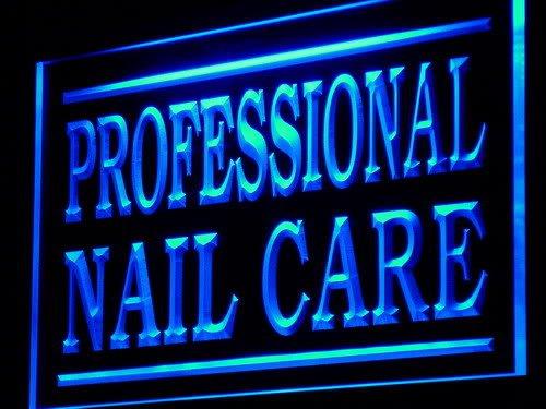 Pro-nail Care (ADV PRO j211-b Professional Nail Care Shop Lure LED Light Sign Barlicht Neonlicht Lichtwerbung)
