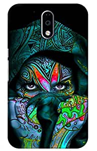 iessential girl Designer Printed Back Case Cover for Moto G Plus 4th Gen