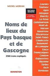 Noms de lieux du Pays basque et de Gascogne