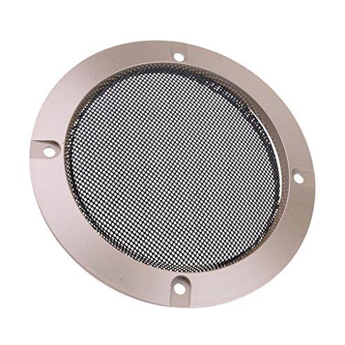 Baoblaze Audio Lautsprecher Gitter Grill Metall Abdeckung Schutzgitter, 4 Zoll/5 Zoll/6,5 Zoll/8 Zoll/10 Zoll - 4 Zoll (6-zoll-subwoofer-lautsprecher-grill)