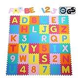 Wide.ling Puzzlematte Eva Schadstofffrei Kinderspielteppich Spielmatte für Kinder-Garden Eva 36