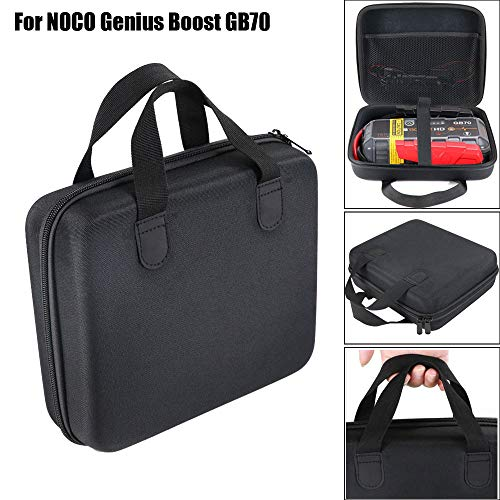 Price comparison product image Handbag,  CHshe Storage Bag Portable Double Zipper Closure Eva Bag Pad Pouch for Noco Genius Boost Gb70 Hd 2000 Amp 12V Ultrasafe Lithium Jump Starter