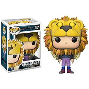 Pop Harry Potter Luna Lovegood Lion Head